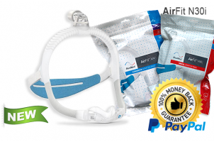 AirFit N30i Nasal CPAP Mask with Headgear - Starter Pack