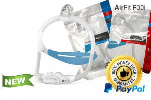 AirFit P30i Nasal Pillow CPAP Mask with Headgear - Starter Pack
