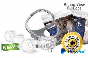 AmaraView Full Face Mask - Fit Pack