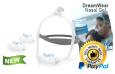 DreamWear Назальная Гелевая Маска с Ремешками - Fit Pack (S, M, L Подушки со Среднего размера Рамкой)