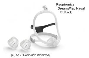 DreamWisp Nasal Mask - Fit Pack